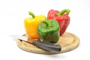 berevné papriky